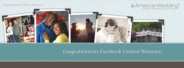 Congratulations Facebook Contest Winners!