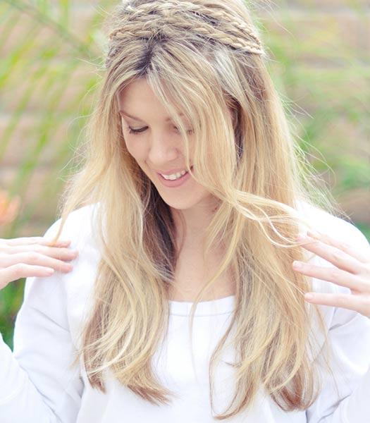 artzy hair fall weddings