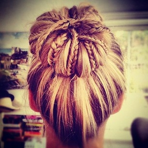 wedding hair styles bun