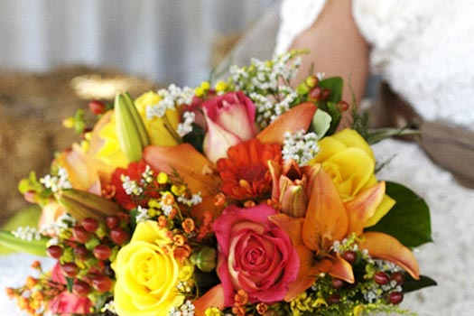 Fall Flowers for weddings