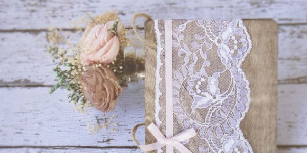 wedding lace book