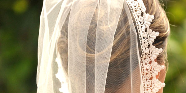 wedding lace veil