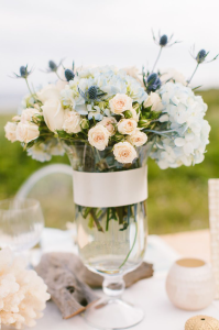 Wedding Colors: Powder Blue and Blush