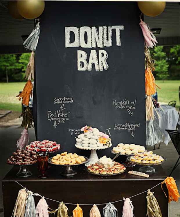 Ideas For A Fun Wedding: Trend: Unique Wedding Reception Dessert Ideas