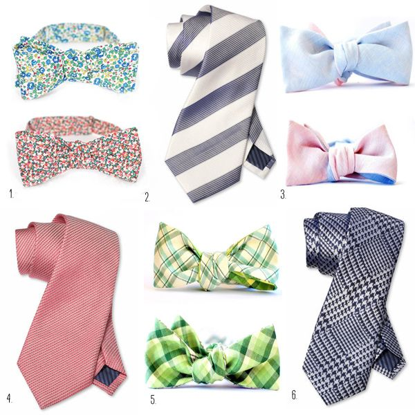 UniqueGroomAttireBowTies