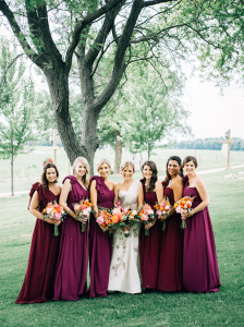 Wedding Colors: Berry Tones