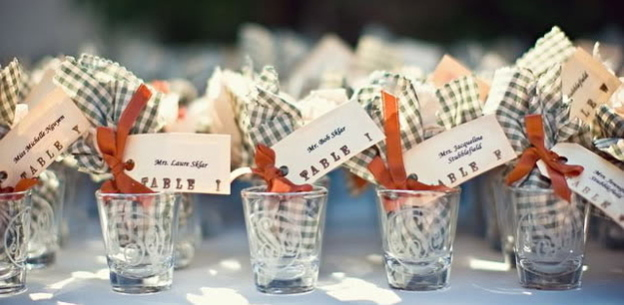 Shot Glass Wedding Favor