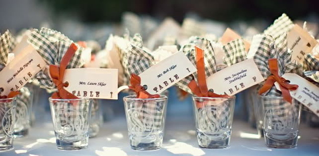 Shot Gl Wedding Favor