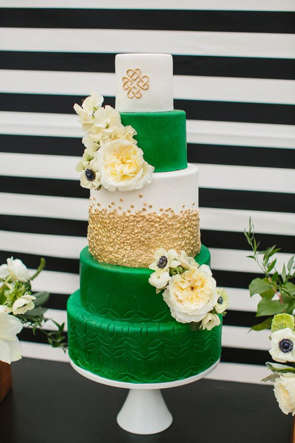 Wedding Theme Irish Green American Wisdom