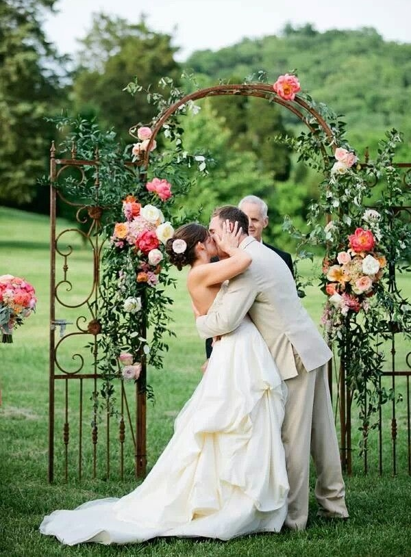 Romantic Outdoor Summer Wedding