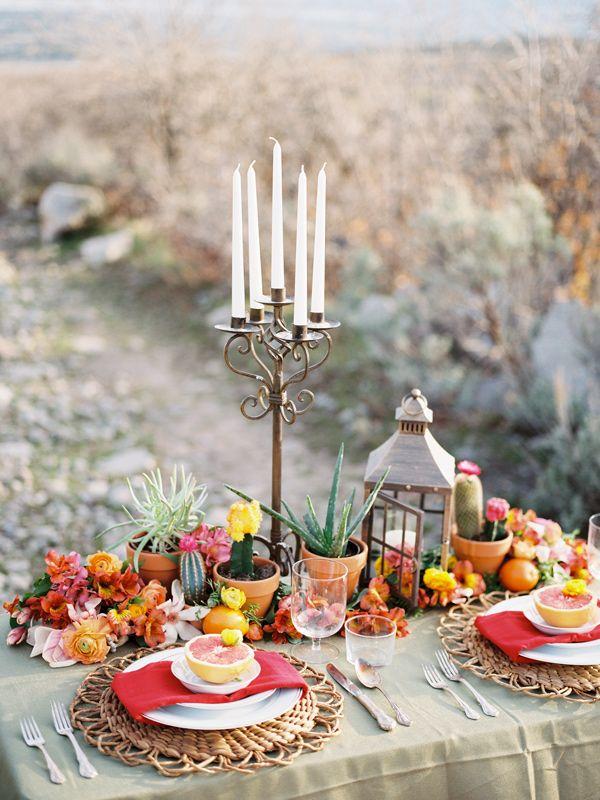 Cinco De Mayo Wedding Inspiration Table