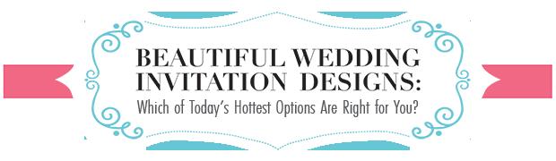 Beautiful Wedding Invitation Designs