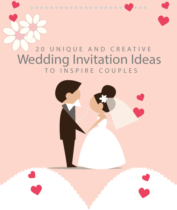 20 Unique and Creative Wedding Invitation Ideas to Inspire Couples
