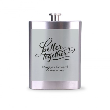 Wedding Flask