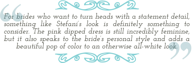Celebrity Bridal Look quote