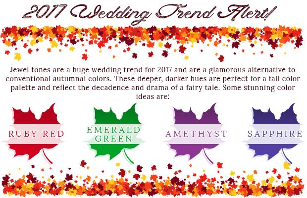 2017 wedding trend alert
