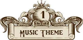 music wedding theme divider 1
