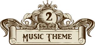 music wedding theme divider 2