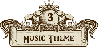 music wedding theme divider 3
