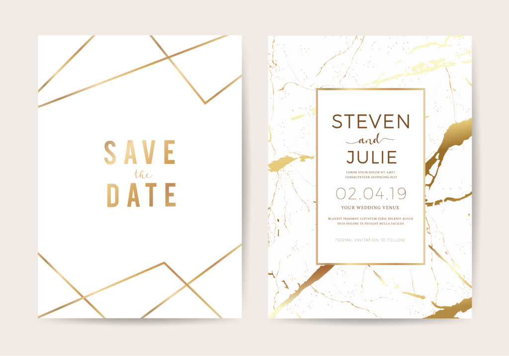 Save The Date Vs Wedding