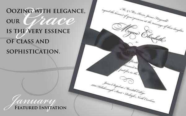 The Grace- January 2012 Featured Invitation
