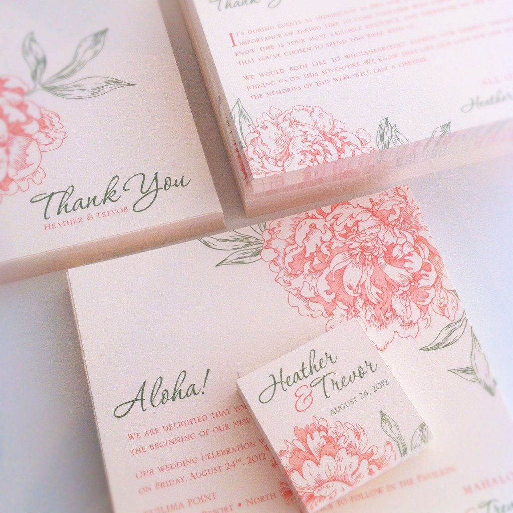 custom design invitation by tgk
