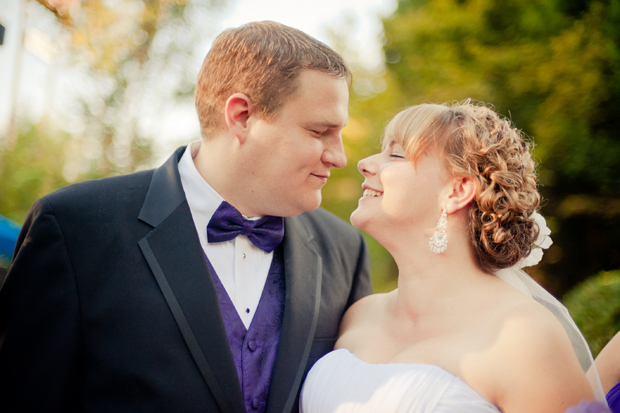 Amy and Tim on their wedding day: June 25, 2011