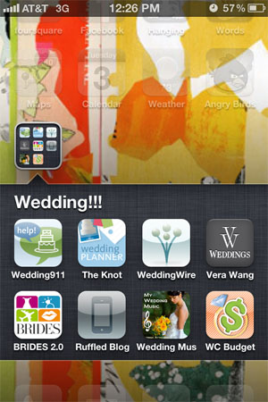 wedding planning apps - iphone