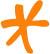 orange asterisk