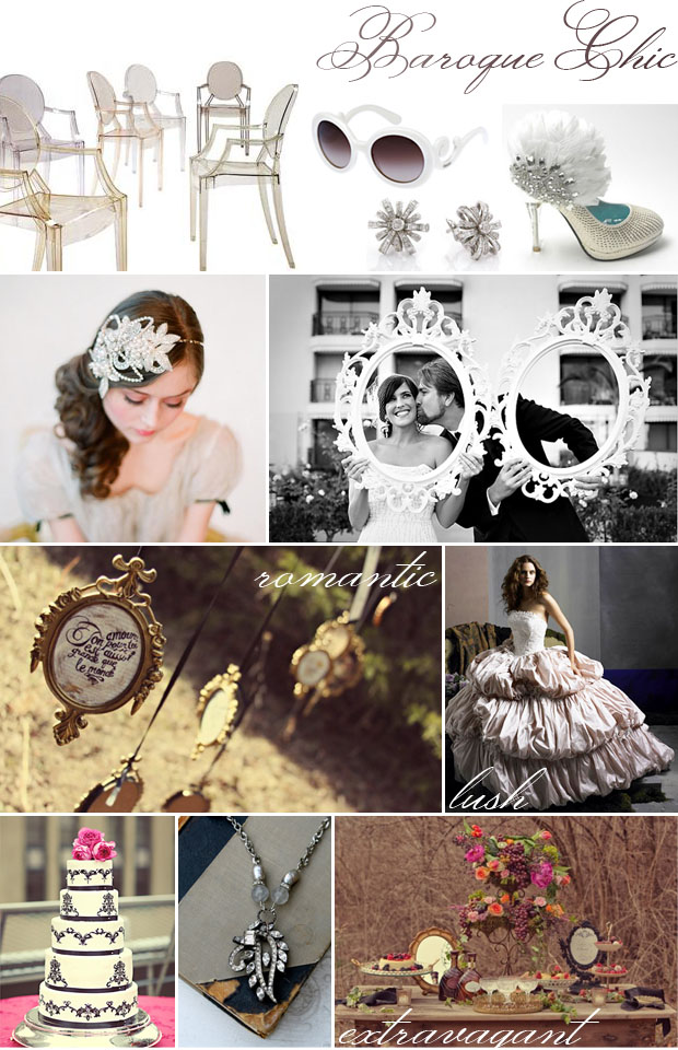 style: baroque chic inspiration board