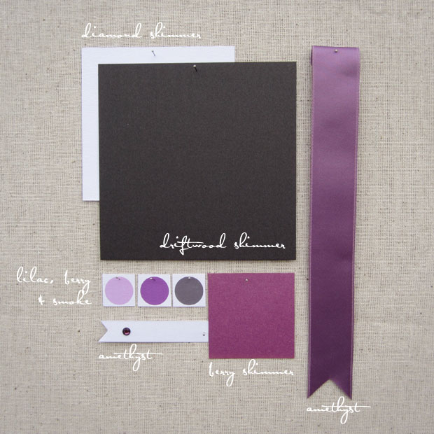 smoke, berry, amethyst, purple, gray wedding color inspiration