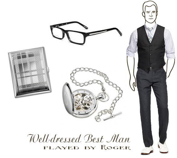 mad men styled best man