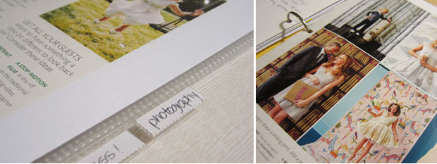 wedding planning binder tabs and inspiration