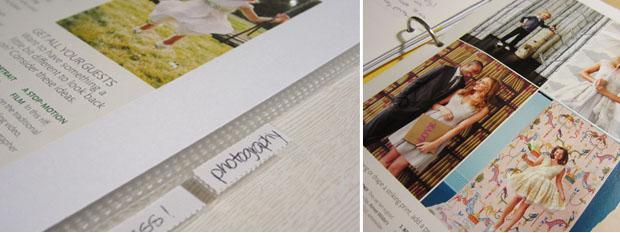 wedding planning binder tabs and inspiration