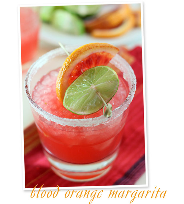 stir it up: blood orange margarita
