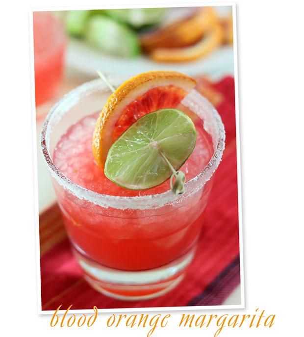 stir it up: blood orange margarita
