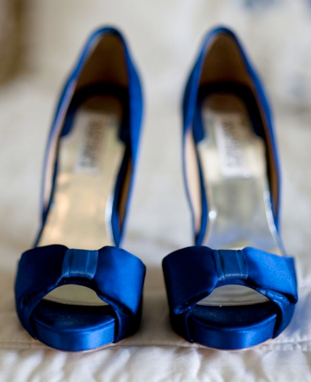 Wedding Trend: Blue Shoes