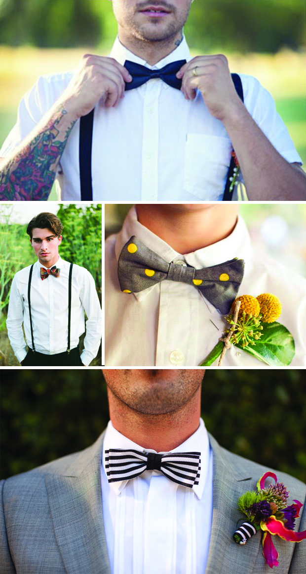 groom trends: bow ties