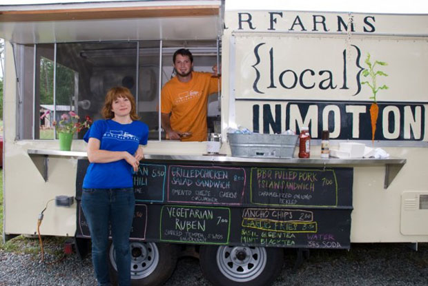 boxcarr farms local north carolina food truck
