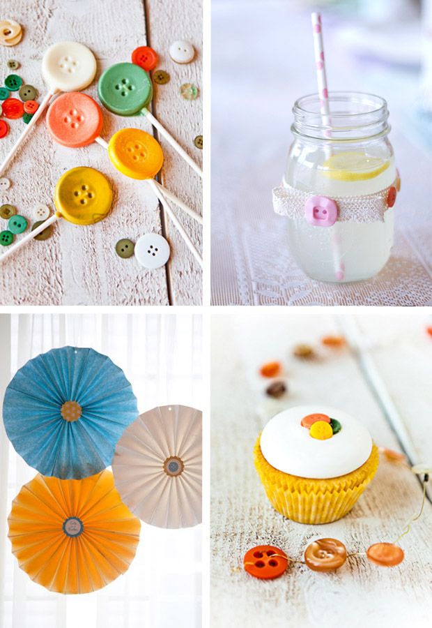 The Baby Shower Button Inspiration