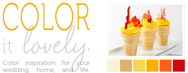 color it lovely: olympic torch cupcakes