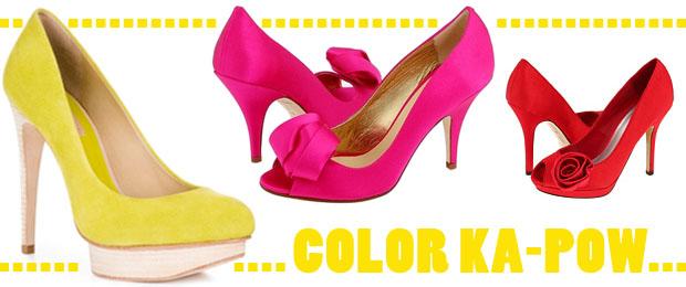 Color Wedding Shoe Trend
