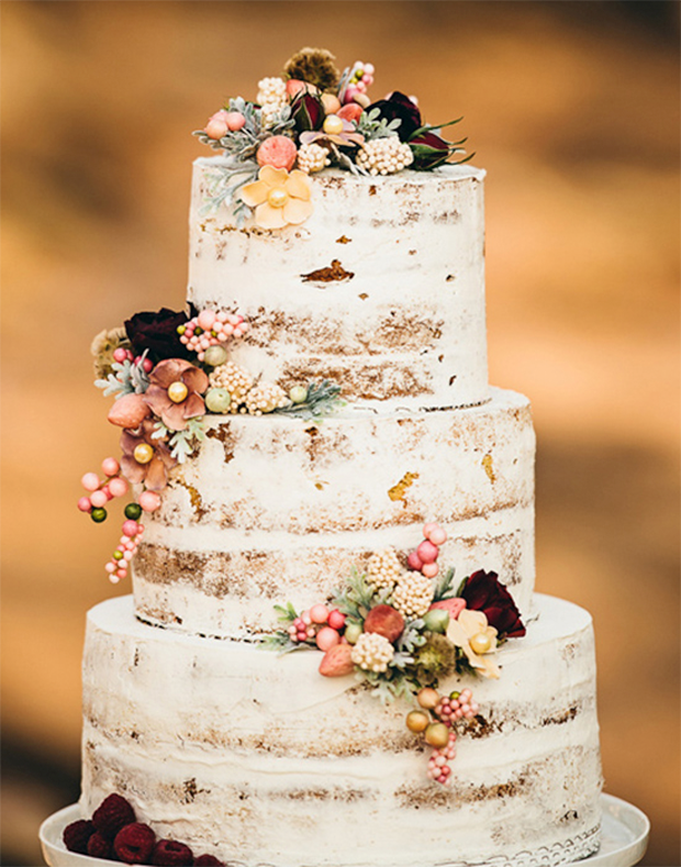 Wedding Trends Naked Wedding Cakes on Pink Orchid Studio Part Two