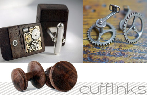 cufflinks - mens wedding day attire
