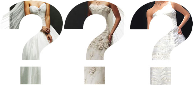 secret wedding dresses
