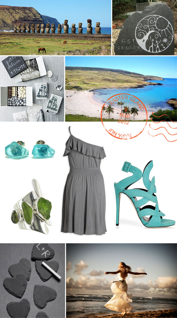 easter island travels inspiration board