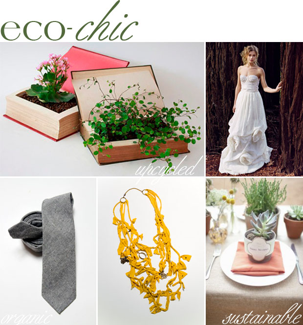 eco-chic style inspiration board