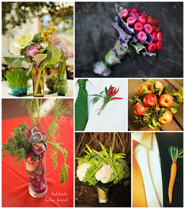 Edible Bouquet Inspiration Board