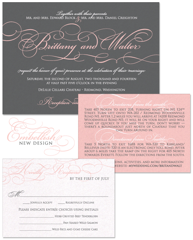 Embellish Wedding Invitation