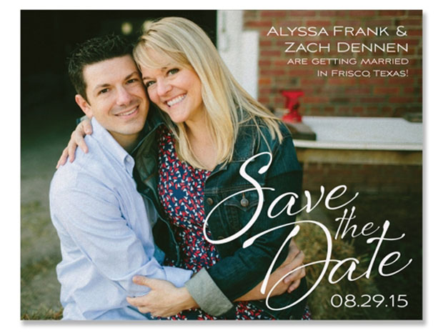 flirt save-the-date wedding stationery by the green kangaroo